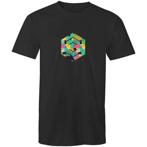 Men's Data Cube T-shirt - The Hippie House