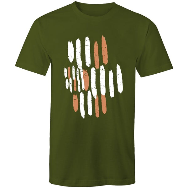 Men's Abstract Lines T-shirt - The Hippie House