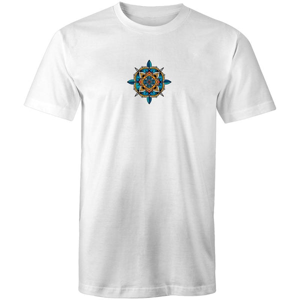 Men's Abstract Mandala Dreams T-shirt - The Hippie House
