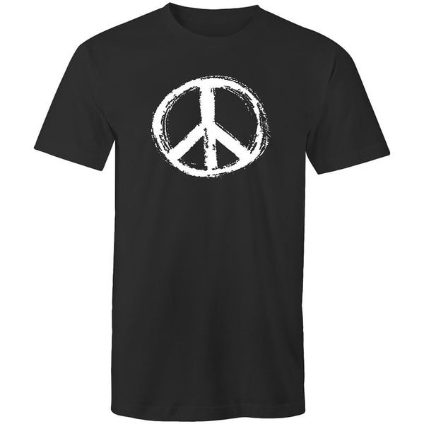 Men's Abstract Peace T-shirt - The Hippie House