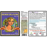 Advanced Nutrients Sensi Bloom Part A & B - 500ml - The Hippie House