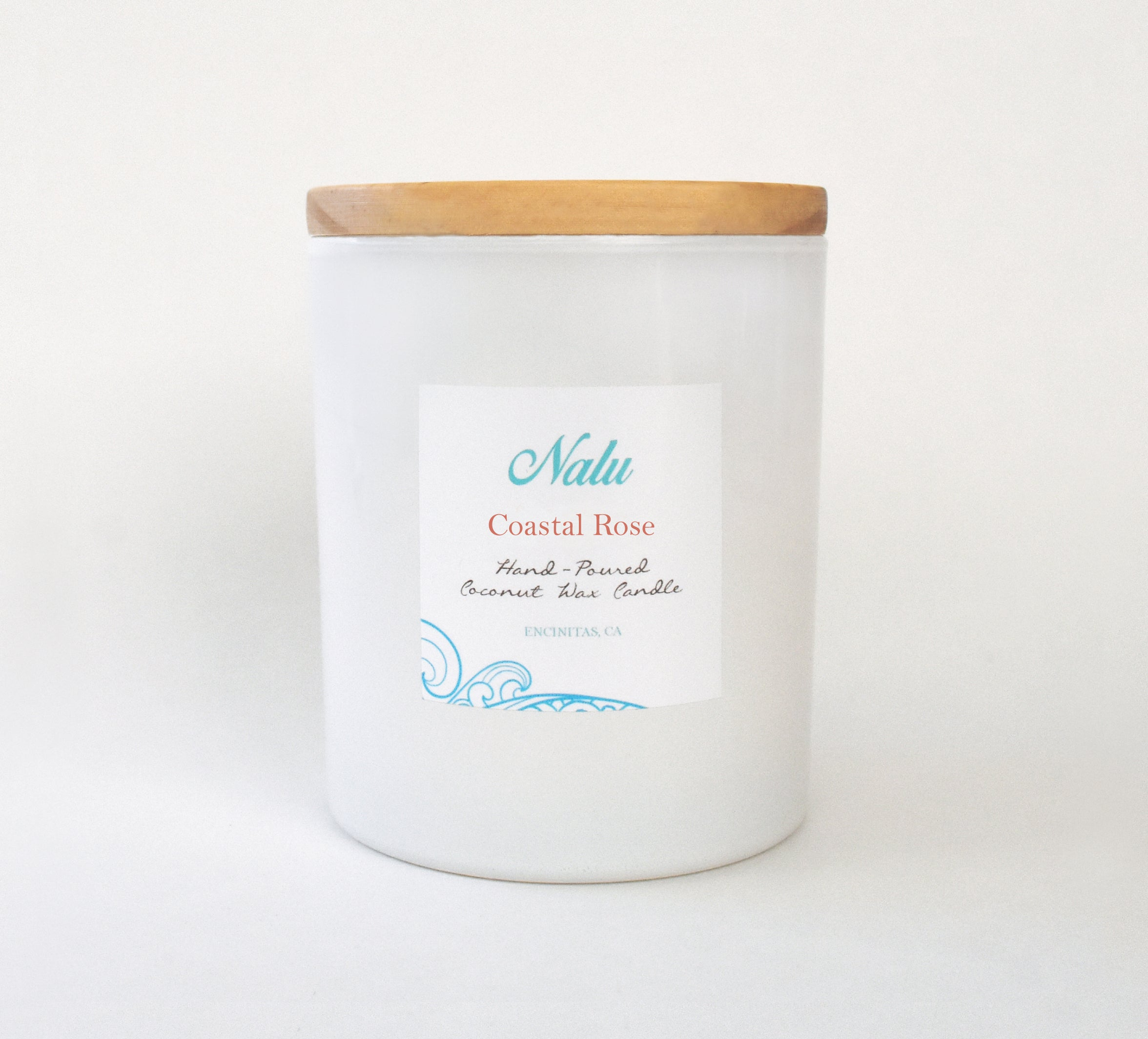 Coastal Rose 10 oz. Candle
