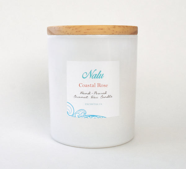 Coastal Rose 13.5 oz. Candle