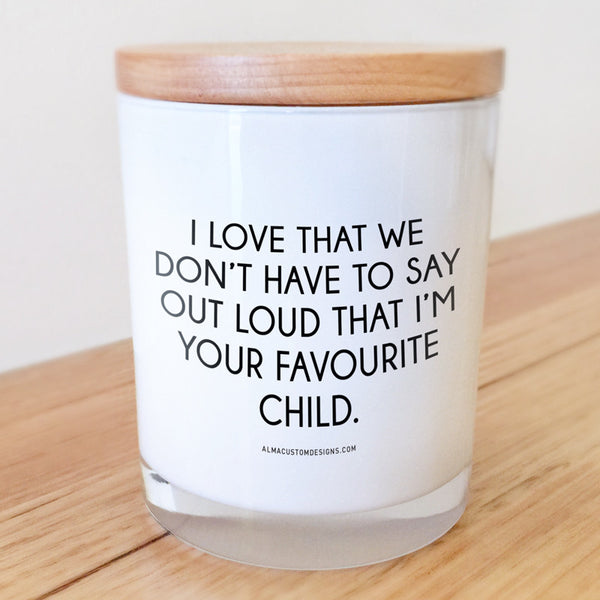 Favourite Child Candle