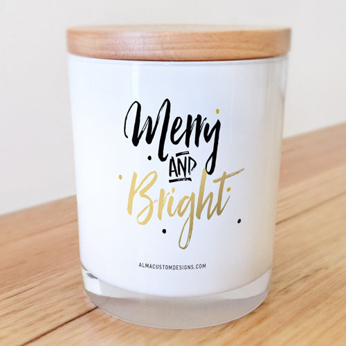 Merry and Bright Candle