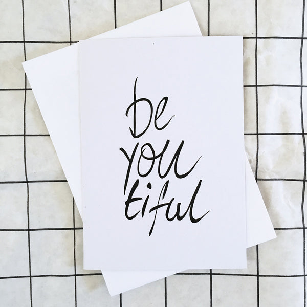BE YOU TIFUL GIFT CARD