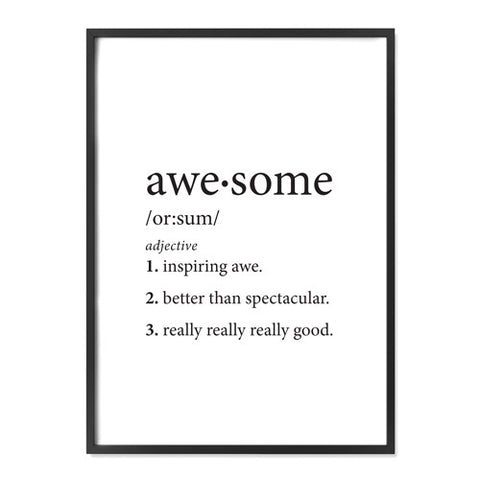 Awesome Definition