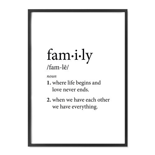 Meaning Of Family Quotes: Alma Custom Designs