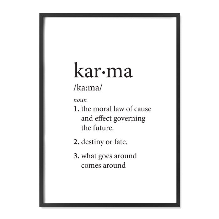 Karma Definition Alma Custom Designs
