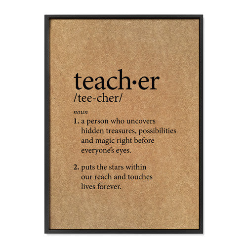 Teacher Definition - Buffalo