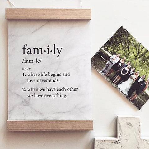 Family Definition - Marble