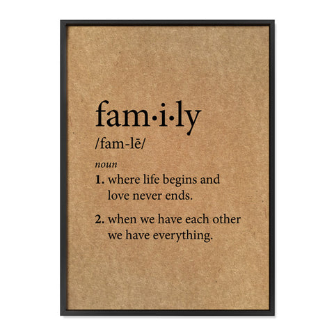 Family Definition - Buffalo