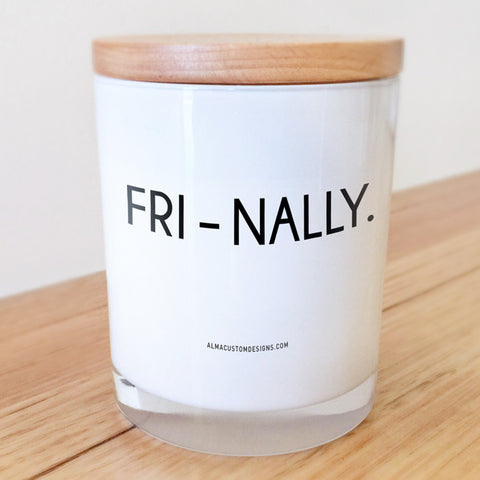 Fri-Nally Candle