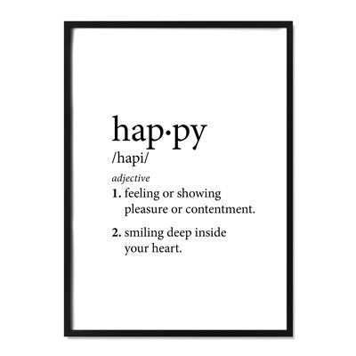 Happy Definition