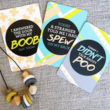 Mummy Milestone Cards