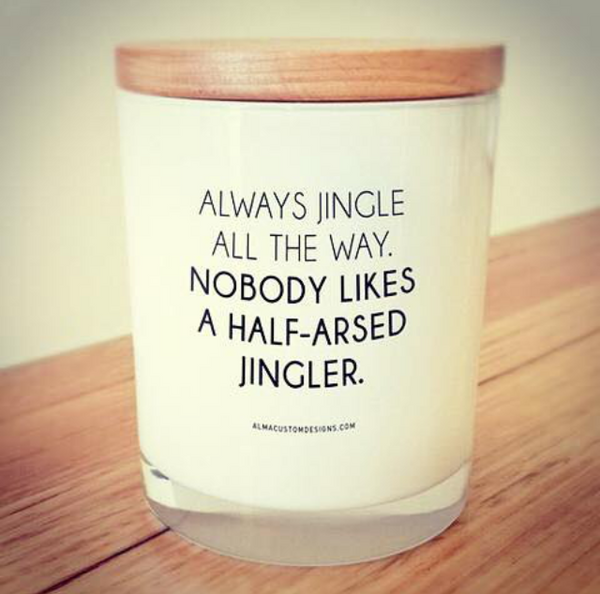 ALWAYS Jingle all the way Candle