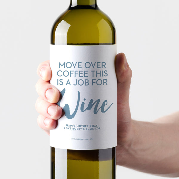 Job for Wine with Custom Message