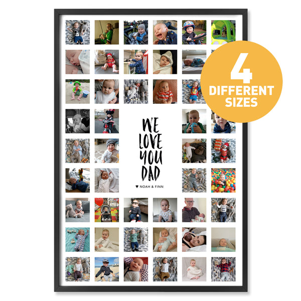ALMA We Love You Dad Print