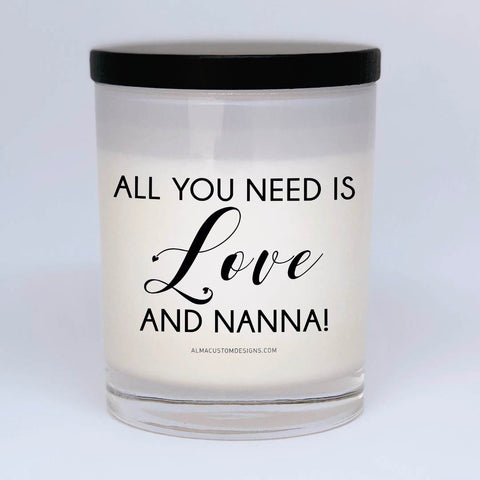 All you need is love and Nanna Candle
