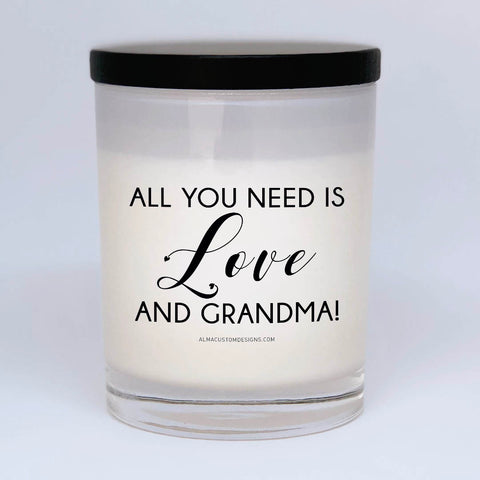 All you need is love and Grandma Candle