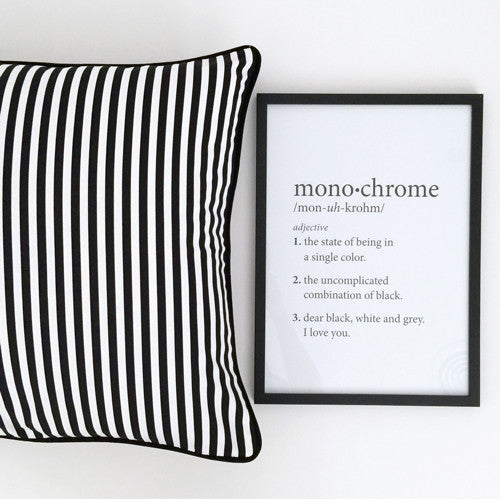 Monochrome Definition