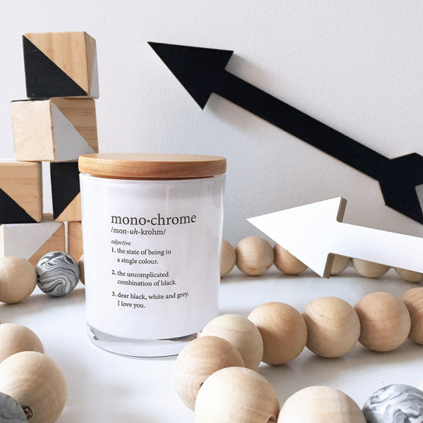Monochrome Candle