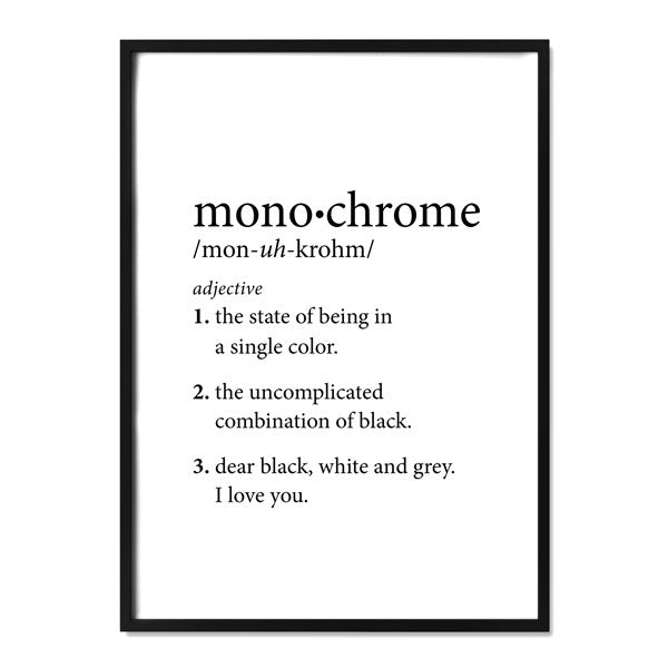Monochrome definition alma custom designs - What does monochromatic mean ...