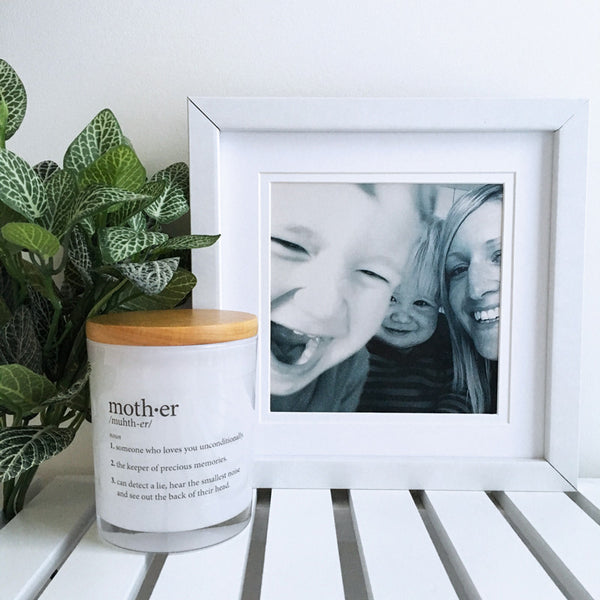 Mother Definition Candle