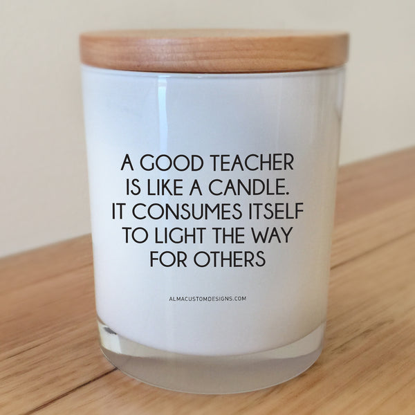 Good Teacher Candle