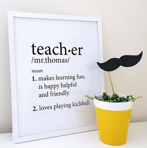Custom Teacher Definition