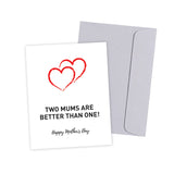 Two Mums/Moms Gift Card