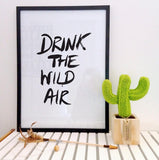 Drink The Wild Air