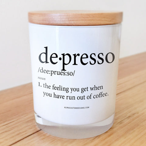 Despresso Candle