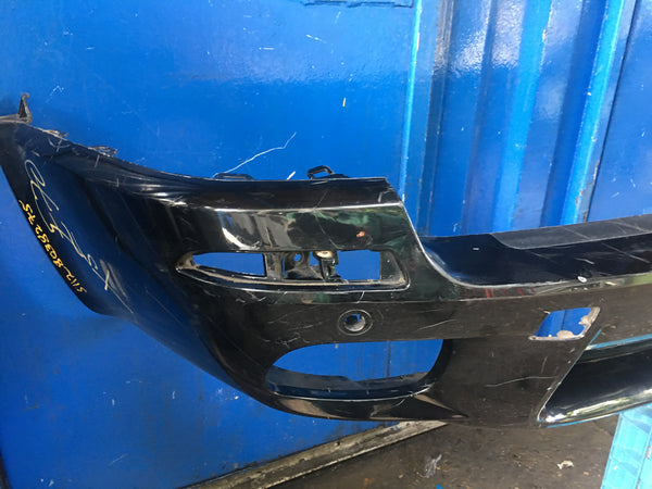 51128038275 BMW X5 2010  M - sport rear bumper in black needs respray
