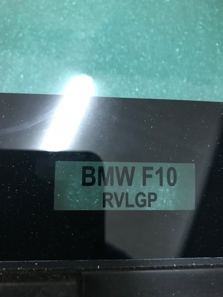 51357311247 BMW 5 SERIES 2016 F10 Passenger side  rear quater  glass green