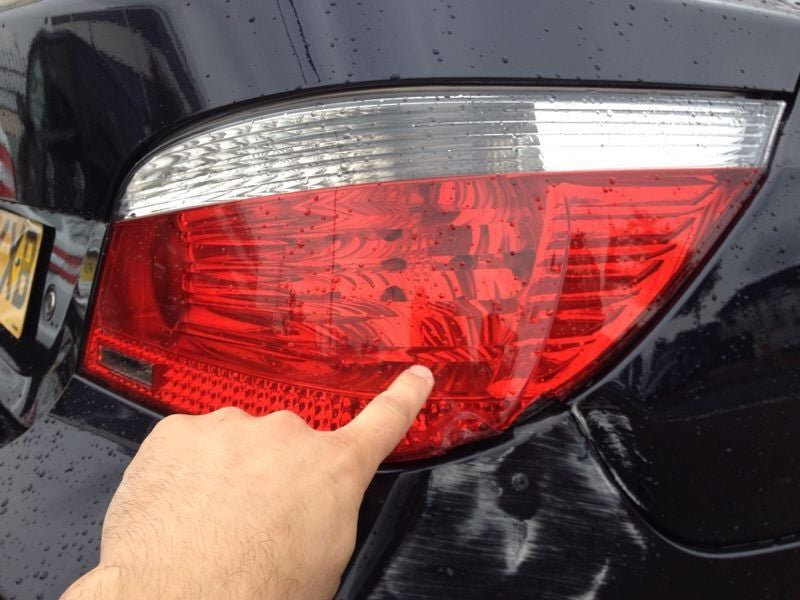 BMW 5 SERIES E60 Tail Light 2006 Right.