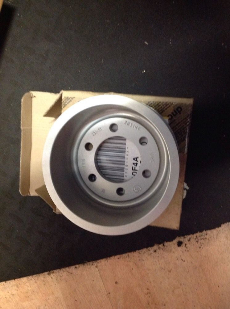 BMW M3 M5 M6 BELT DRIVE PULLEY 2009 11237838230