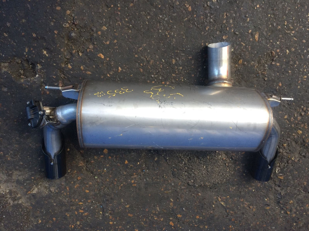 7602290 Bmw 4 series 2015 f32  stainless still exhaust  back box