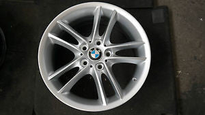 8036939 BMW 1 SERIES E 87 E 88 E 81 M-DOUBLE SPOKE M208 FRONT ALLOY WHEEL 7 1/2 J 18 EH.MAY NEED REFURBISHING