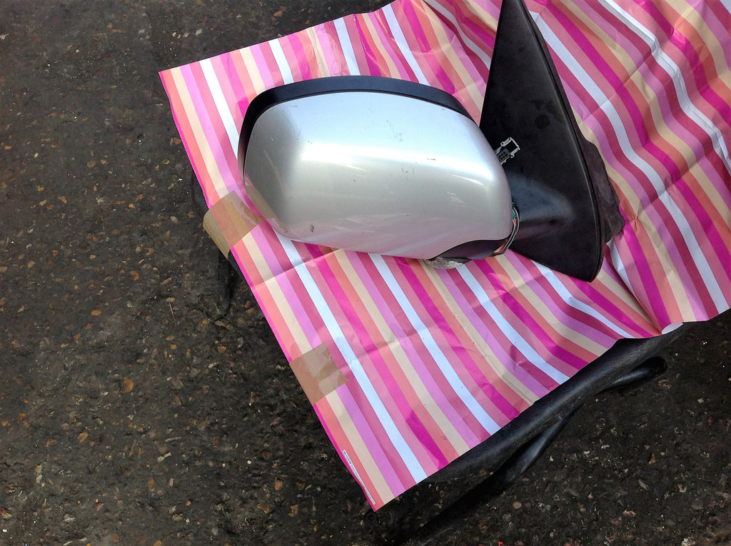 BMW 5 SERIES 2007 E60 DRIVER SIDE WING MIRROR