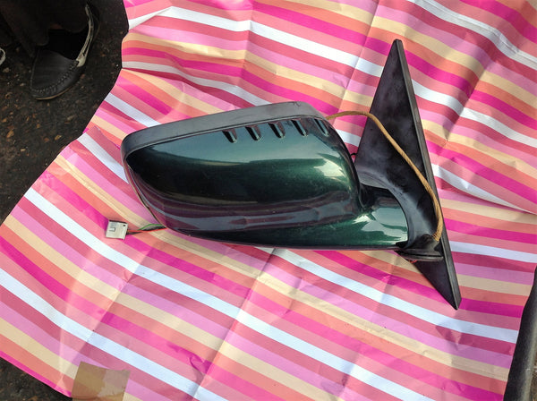 BMW 3 SERIES 2002 COUPE DRIVER SIDE WING MIRROR