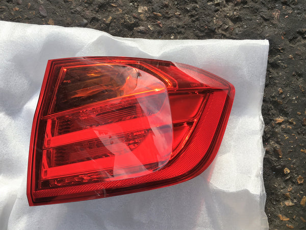 63217372784 BMW 3 SERIES 2016  F30 PASSENGER SIDE BACK LIGHT