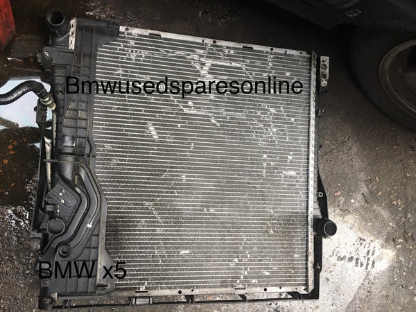 17117788387 BMW X5  2005 3.0 DIESEL RAD PACK WITHOUT THE PUSHER FAN