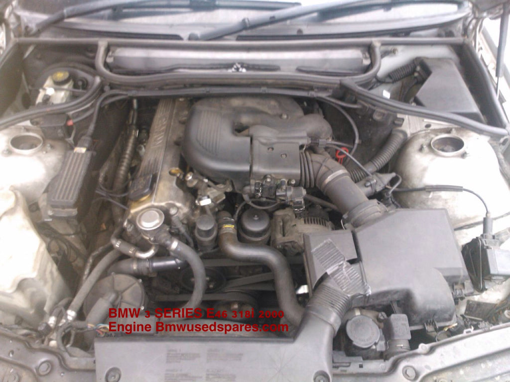 BMW 3 SERIES E 46 318i 1999 ENGINE (07901615047) YOU CAN PICK UP