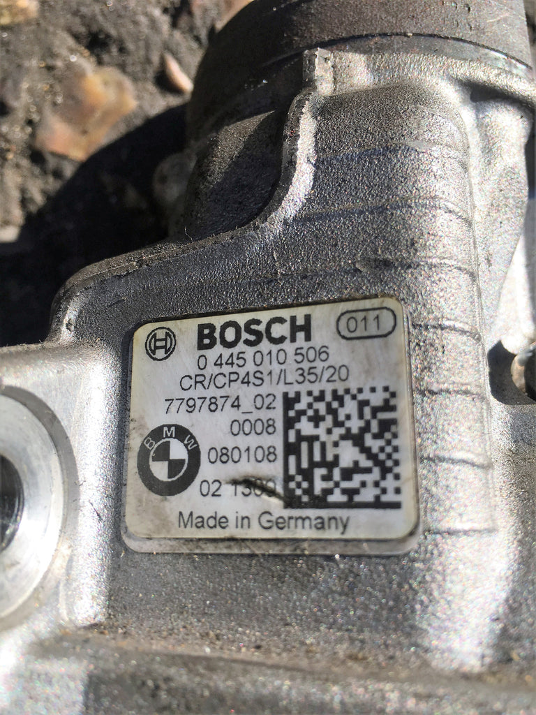 7797874 Bmw 2.0  Diesel High Pressure Pump N47 EngineBosch number 0445010506