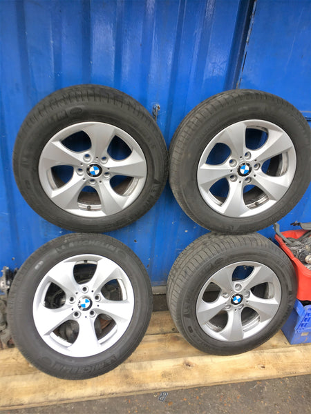 BMW 3 SERIES F30 2016  SET OF 17 INCH ALLOY WHEELS CLEAN