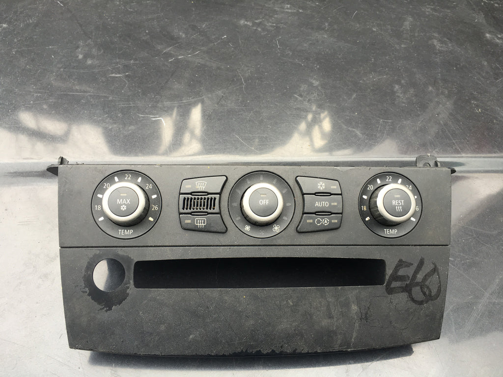 64116938550-01 BMW 5 SERIES 2003 E60 CLIMATE CONTROL UNIT