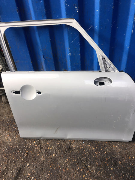 MINI  COUNTRY MAN DRIVER  SIDE FRONT DOOR SHELL 2015