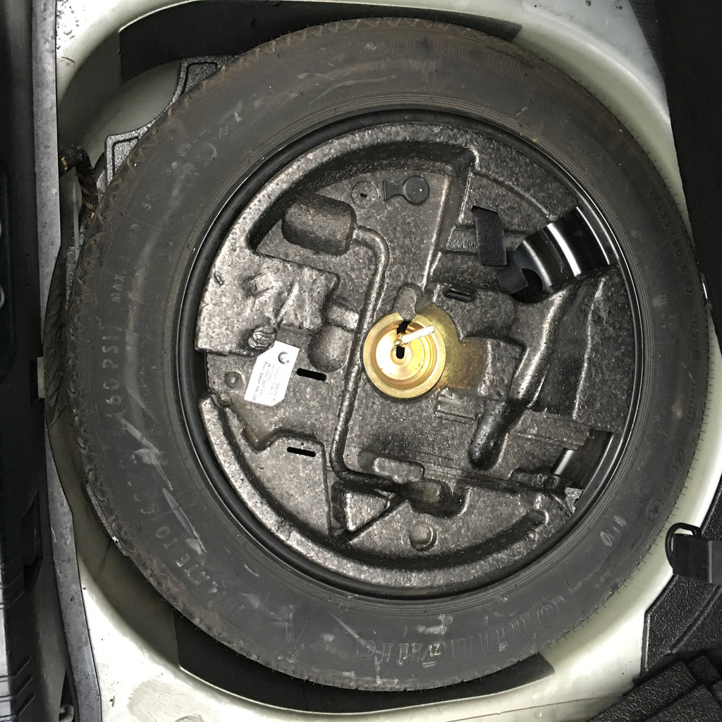 BMW 5 SERIES E60 2005 SPARE WHEEL SPACE SAVER STEEL WHEEL 17INCH