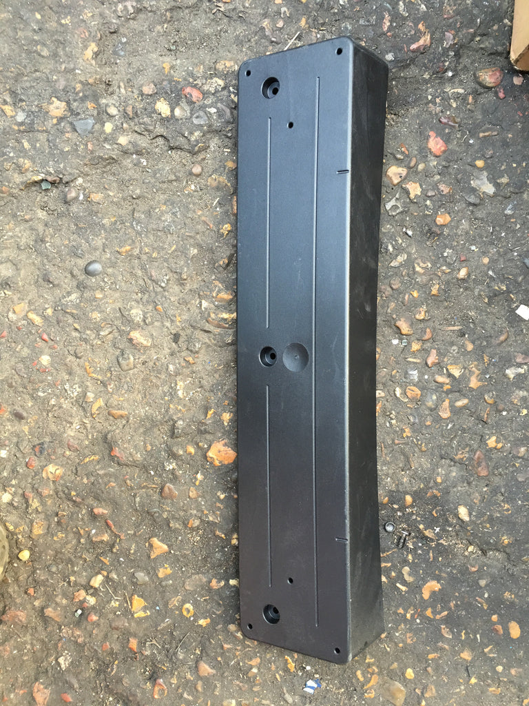 51117338530 BMW X 3 2015 FRONT NUMBER PLATE HOLDER